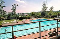 Moshe Safdie Assoc.: Coldspring New Town. Swimming pool. Photo '85.