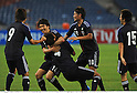 U-23 Japan team group (JPN),.FEBRUARY 22, 2012 - Football / Soccer :.Hiroki Sakai of Japan celebrates with his teammates after scoring the opening goal during the 2012 London Olympics Asian Qualifiers Final Round Group C match between U-23 Malaysia 0-4 U-23 Japan at National Stadium Bukit Jalil in Kuala Lumpur, Malaysia. (Photo by Takamoto Tokuhara/AFLO)