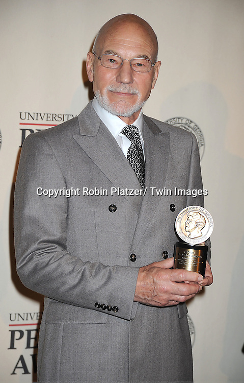Sir Patrick Stewart attends the 71st Annual Peabody Awards at the Waldorf Astoria Hotel in New York City on May 21, 2012.