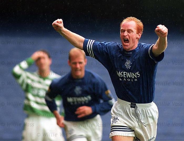"""John """"Bomber"""" Brown scores against Celtic"""