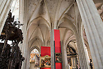 Rubens Paintings on display in Onze Lieve Vrouwekathedraal - Cathedral Church of Our Lady, Antwerp, Belgium