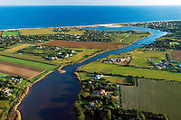 Lake Sagaponack, Aerial, NY,  20x30 inches archival gicle&eacute; canvas signed $700