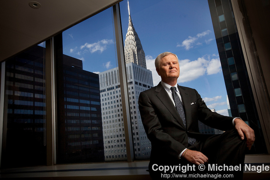 NIEW YORK  - JULY 27:  Randy Falco, chief executive officer of Univision, poses for a portrait on July 27, 2011 in New York City.  (Photo by Michael Nagle)