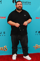 UNIVERSAL CITY, CA, USA - SEPTEMBER 21: Nick Frost arrives at the Los Angeles Premiere Of Focus Features' 'The Boxtrolls' held at Universal CityWalk on September 21, 2014 in Universal City, California, United States. (Photo by Celebrity Monitor)