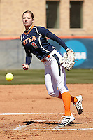 SAN ANTONIO, TX - MARCH 2, 2013: The Sam Houston State University Bearkats versus the University of Texas at San Antonio Roadrunners Softball at Roadrunner Field. (Photo by Jeff Huehn)