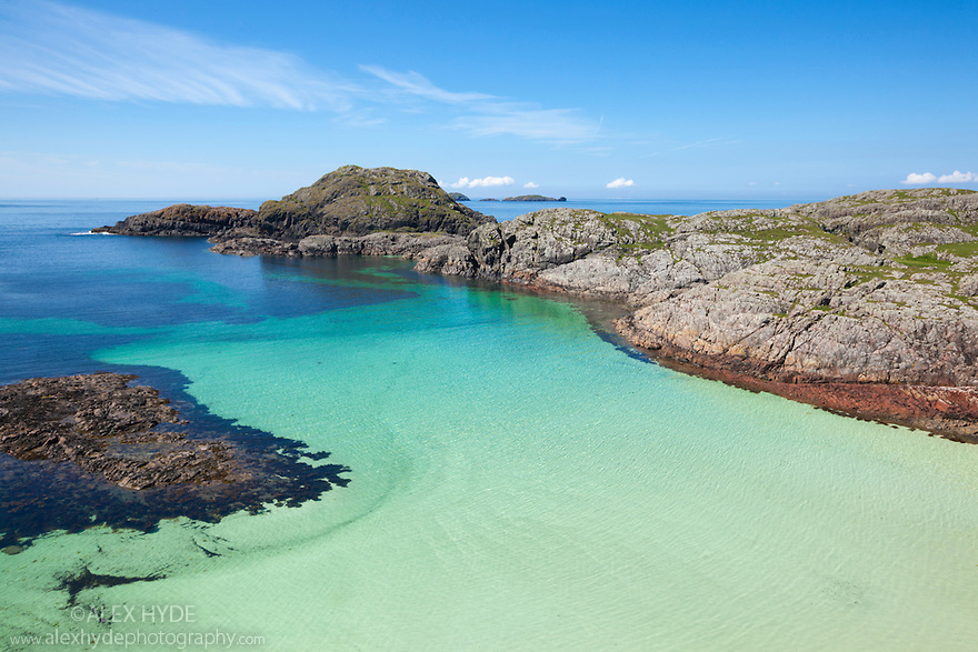 Coastline of Iona, Isle of Mull, Scotland, UK.