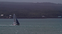 Oracle Racing's  AC 45 catamaran at pace on Auckland's Waitemata Harbour on a breezy day. Auckland, New Zealand, 6 May 2011. Photo: Gareth Cooke/Subzero Images