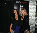 Super Model Lisalla Montenegro and Actress Malin Akerman attend Cosmopolitan Kisses For The Troops Official After-Party Hosted by Lisalla Montenegro At The Polar Lounge In The Marcel At Gramercy, NY