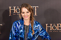 "Marina Jamieson attends ""The Hobbit: An Unexpected Journey"" premiere at the Callao cinema- Madrid."