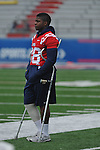 Ole Miss' D.T. Shacklelford at the  Grove Bowl in Oxford, Miss. on Saturday, April 16, 2011.