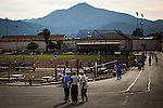 SAN QUENTIN, CA - APRIL 30, 2014: The main yard at San Quentin State Prison. CREDIT: Max Whittaker for The New York Times