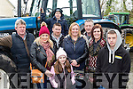 Have you a tractor<br /> -------------------------<br /> Supporting the James Ashe Memorial charity tractor run last Sunday beginning at Boolteens in aid of Palliative Care and Kerry/Cork Health Bus, were L-R Connie Naughton, Emma&amp;Kerry O'Shea, Anthony Naughton, Keith O'Shea, Karen Nagle, Gerard Ryle, Maryanne Piggott with Luke Naughton.