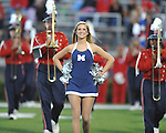 Ole Miss vs. Louisiana-Lafayette in Oxford, Miss. on Saturday, November 6, 2010. Ole Miss won 43-21.