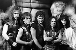 Dio 1985 Claude Schnell, Vivian Campbell, Vinny Appice, Ronnie James Dio and Jimmy Bain Sacred Heart Tour