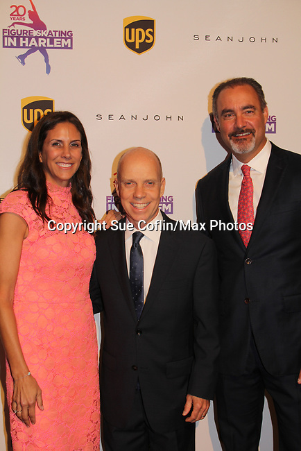 Ellen Lowey and Scott Hamilton - Figure Skating in Harlem celebrates 20 years - Champions in Life benefit Gala on May 2, 2017 as As The World Turns' Tamara Tunie at 583 Park Avenue, New York City, New York. (Photo by Sue Coflin/Max Photos)