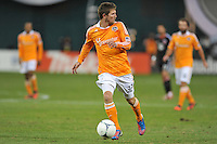 Houston Dynamo defender Bobby Boswell (32) D.C. United tied The Houston Dynamo 1-1 but lost in the overall score 4-2 in the second leg of the Eastern Conference Championship at RFK Stadium, Sunday November 18, 2012.