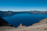 Crater Lake National Park, Oregon. View from Cloudcap.Photo copyright Lee Foster.  Photo # oregon-crater-lake-oregon105808