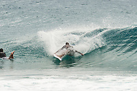 Snapper Rocks, Coolangatta, Queensland Australia. (Tuesday March 4, 2014) –  Guy Walker (AUS). The swell  was in the 3'-4' range all day with barrels at Snapper. The Rainbow Bay and Greenmount section of the Superbank providing some clean fun waves as well. Photo: joliphotos.com