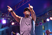 Public Enemy's Chuck D during their headline performance in City Plaza during the Hopscotch Music Festival in Raleigh, N.C., Sat., Sept. 11, 2010.