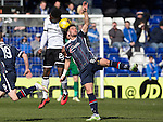 Ross County v St Johnstone&hellip;..30.04.16  Global Energy Stadium, Dingwall<br />Alex Schalk and Darnell Fisher<br />Picture by Graeme Hart.<br />Copyright Perthshire Picture Agency<br />Tel: 01738 623350  Mobile: 07990 594431