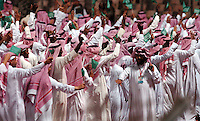 Pix: Simon Wilkinson/SWpix.com. 1st Islamic Solidarity Games 2005. The Kingdom of Saudi Arabia. Jeddah, Madina, Mecca and Taif...copyright picture>>simon Wilkinson>>07811 267 706>>..Opening ceremony