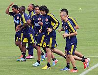 Entrenamiento Seleccion Colombia Fútbol de mayores 23-05-2013