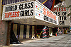 Out of Business Stripclubs on Fremont Street, Downtown Las Vegas, Nevada