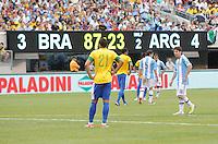 Argentina vs Brazil, June 9, 2012