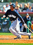 2 March 2009: New York Yankees' outfielder Austin Jackson in action during a Spring Training game against the Houston Astros at Osceola County Stadium in Kissimmee, Florida. The teams played to a 5-5, 9-inning tie. Mandatory Photo Credit: Ed Wolfstein Photo