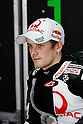 February 5, 2010 - Kuala Lampur, Malaysia - Pramac Racing's Finnish rider Mika Kallio takes a break in his box during the final day of the MotoGP test on Sepang International Circuit on February 5, 2010. (Photo Andrew Northcott/Nippon News)