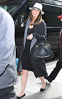 NEW YORK, NY - APRIL 14: Savannah Guthrie seen in New York City on April 14, 2017. Credit: RW/MediaPunch
