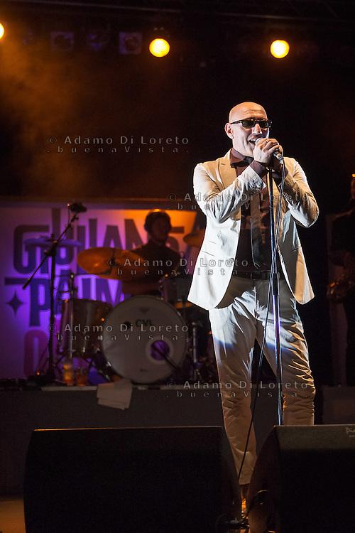 Giuliano Palma live in concert whit you tour Old Boy August 17, 2015. Photo: Adamo Di Loreto/BuenaVista*photo