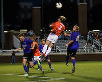 The number 24 ranked Furman Paladins took on the number 20 ranked Clemson Tigers in an inter-conference game at Clemson's Riggs Field.  Furman defeated Clemson 2-1.  Kyle Fisher (2), Tyler Peoples (15), Trevor Haberkorn (6)