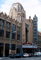 Movie Theatre: Oakland, CA. Fox Oakland Theatre, 1815 Telegraph, 1928. M.I. Diggs, Weeks & Day. Photo '88.