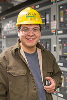 GVEA North Pole Power plant employee, North Pole, Alaska