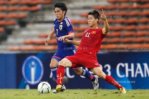 Ryota Oshima (JPN), MARCH 29, 2015 - Football / Soccer : AFC U-23 Championship 2016 Qualification Group I match between U-22 Japan 2-0 U-22 Vietnam at Shah Alam Stadium in Shah Alam, Malaysia. (Photo by Sho Tamura/AFLO SPORT)