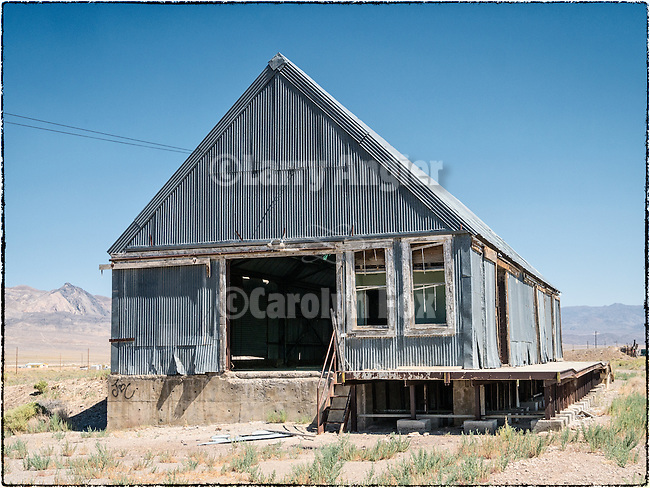 Abandoned warehouse, Luning, Nev.