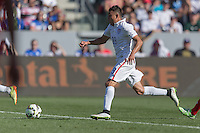 Carson, CA - Sunday, February 8, 2015 Miguel Ibarra (19) of the USMNT. The USMNT defeated Panama 2-0 during an international friendly at the StubHub Center