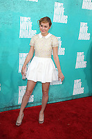LOS ANGELES - JUN 3:  Brie Larson arriving at the 2012 MTV Movie Awards at Gibson Ampitheater on June 3, 2012 in Los Angeles, CA