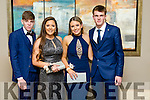 Dylan Burns, Nora O'Connell, Meabh Buckley, Darragh O'Regan   at the CBS The Green Students' Debs Ball at Ballyroe Heights Hotel on Thursday night