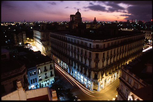 View from Bacardi Building Rooftop, Havana, Cuba, 2010 by Paul Cooklin