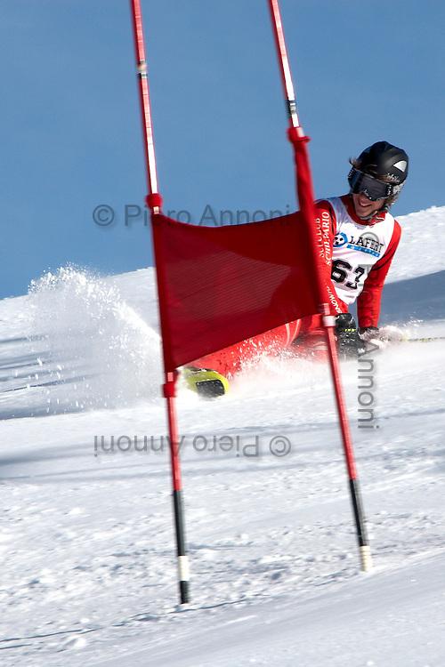 Gara di sci tra le scuole bergamasche al Monte Pora...