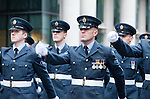 The Lord Mayor's Show, London, UK (9 November 2013). RAF Reserves, 600 (City of London) Squadron.