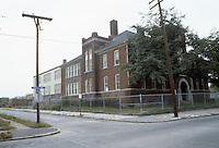 1982 October..Redevelopment.Church Street..LOTT CAREY SCHOOL...NEG#.NRHA#..