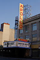 Apollo Theater,  most famous music hall, Architect: George Keister, Harlem, Manhattan, New York City, New York, USA