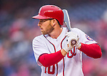 28 April 2016: Washington Nationals third baseman Stephen Drew at bat during a game against the Philadelphia Phillies at Nationals Park in Washington, DC. The Phillies shut out the Nationals 3-0 to sweep their mid-week, 3-game series. Mandatory Credit: Ed Wolfstein Photo *** RAW (NEF) Image File Available ***