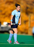 25 October 2009: Columbia University Lion forward Jane Gartland, a Senior from Media, PA, in action against the University of Vermont Catamounts at Moulton Winder Field in Burlington, Vermont. The Lions shut out the Catamounts 1-0. Mandatory Credit: Ed Wolfstein Photo