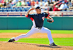 8 March 2009: Washington Nationals' pitcher Bobby Brownlie on the mound during a Spring Training game against the New York Mets at Space Coast Stadium in Viera, Florida. The Nationals defeated the Mets 8-3 in the Grapefruit League matchup. Mandatory Photo Credit: Ed Wolfstein Photo