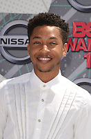 LOS ANGELES, CA - JUNE 26: Jacob Latimore at the 2016 BET Awards at the Microsoft Theater on June 26, 2016 in Los Angeles, California. Credit: David Edwards/MediaPunch