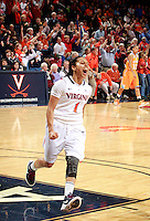 CHARLOTTESVILLE, VA- NOVEMBER 20: China Crosby #1 of the Virginia Cavaliers reacts during the game on November 20, 2011 against the Tennessee Lady Volunteers at the John Paul Jones Arena in Charlottesville, Virginia. Virginia defeated Tennessee in overtime 69-64. (Photo by Andrew Shurtleff/Getty Images) *** Local Caption *** China Crosby